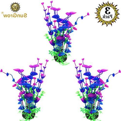 SunGrow Plants - Bright, Colorful Hues & Maintenance, Decoration Safe Entertaining