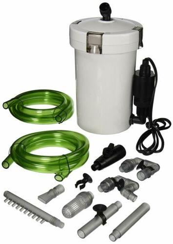 3 stage external canister filter 106 gph