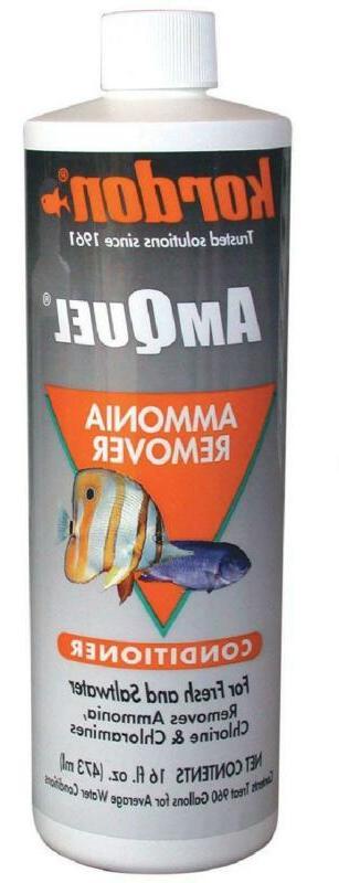 Kordon  #31256 Amquel- Ammonia Detoxifier For Aquarium, 16-O