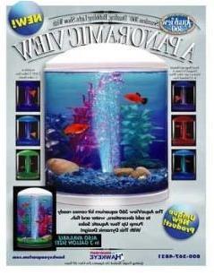 360 Degrees View Round Aquarium Kit