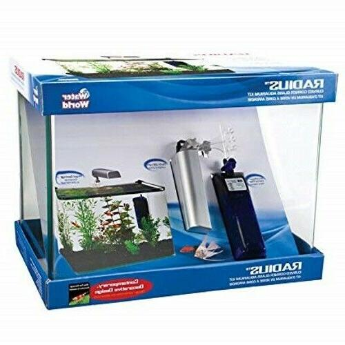 5 gallon aquarium kit with light