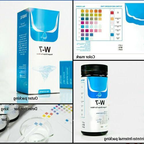 7in1 Aquarium Fish Tank Water Tropical Kit Nitrite KH