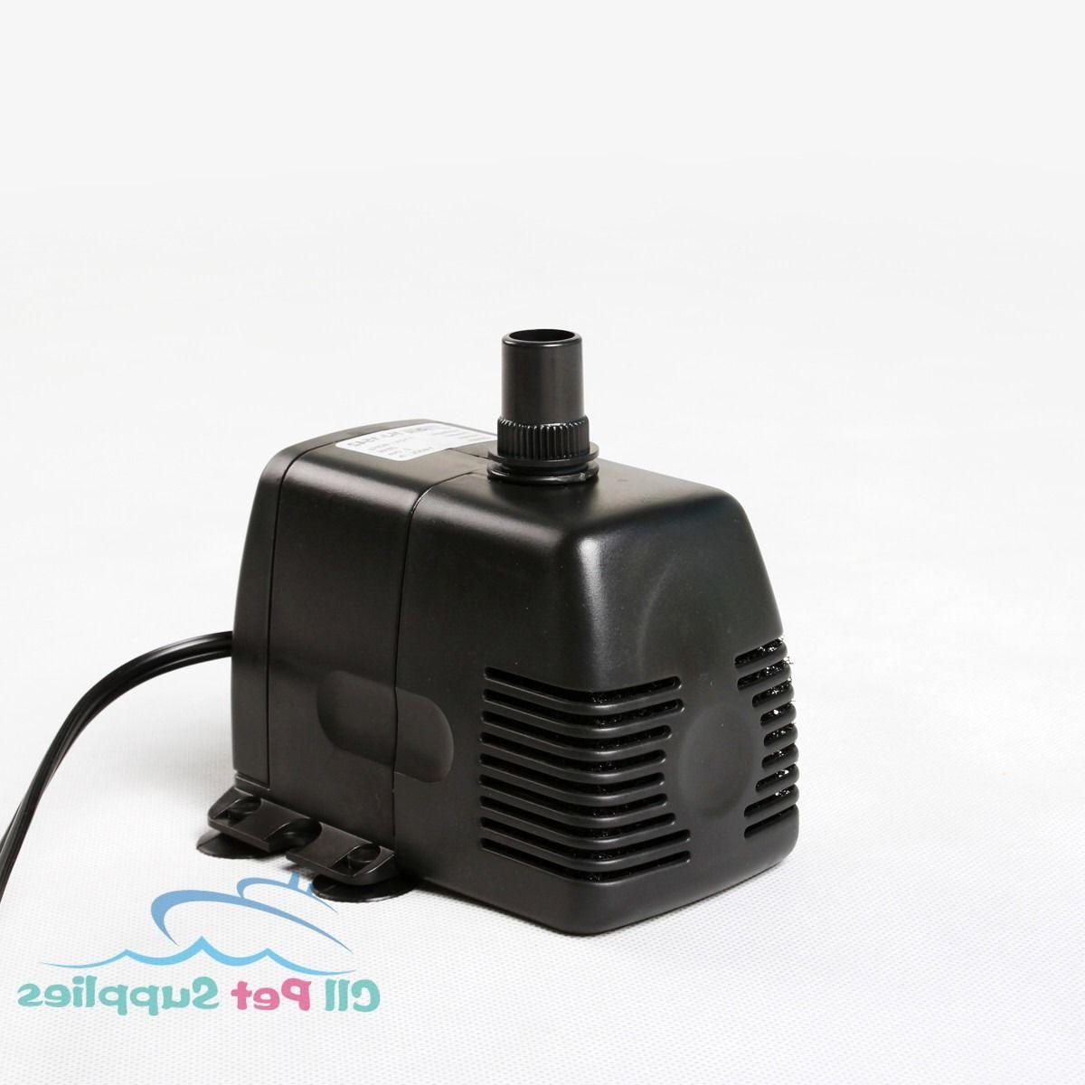 53 - Submersible Pump Fish Tank Fountain