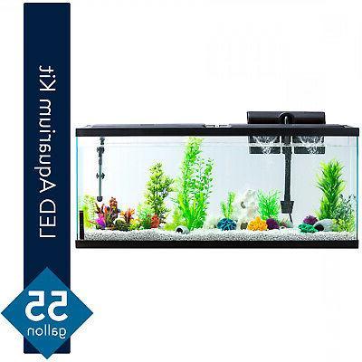 Aqua Culture Aquarium Starter Kit 55 Gallon