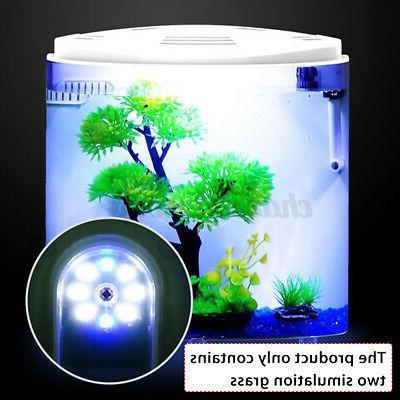 5L Moon Fish Tank Aquarium Acrylic Capacity USB