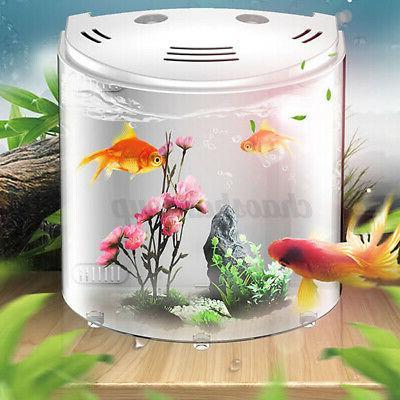 5L Fish Tank Mini Capacity Range USB LED