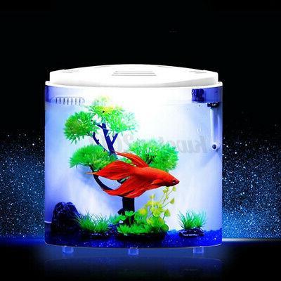 5L LED Ecological Fish Half-moon Light