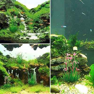 5Pcs Water Grass Plants Fish Tank Decor Supply