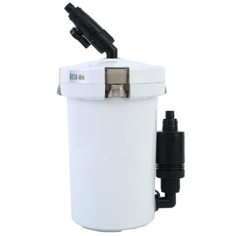 Aquarium Tank Canister Filter Outside Top Pre-Filter HW-603B