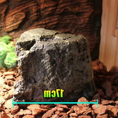 6382 Terrarium Aquarium Reptile Practical Rest Cave