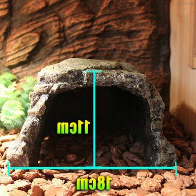 6382 Resin Aquarium Practical Rest Cave