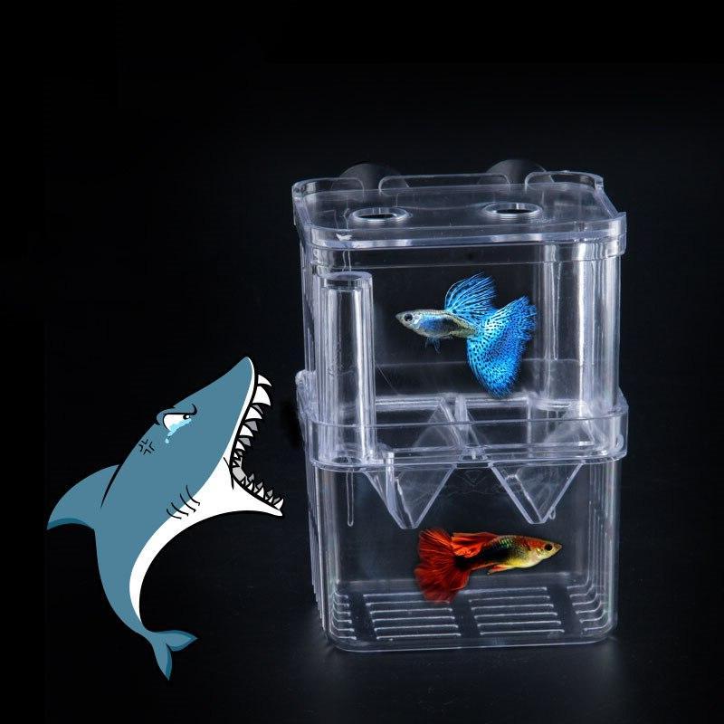 8*7*11cm <font><b>Breeding</b></font> Isolation Box Aquarium Breeder <font><b>Fish</b></font> <font><b>Tank</b></font> Incubator