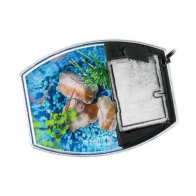 Aqueon MiniBow Aquarium Starter with Lighting, Blue