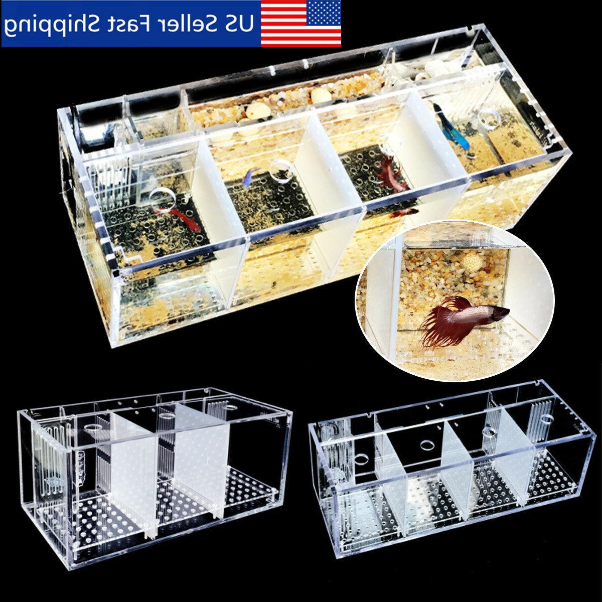 acrylic aquarium baby betta hang fish tank