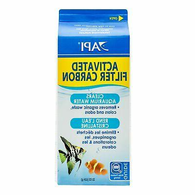 API ACTIVATED FILTER CARBON Aquarium Filtration Media 22-Oun