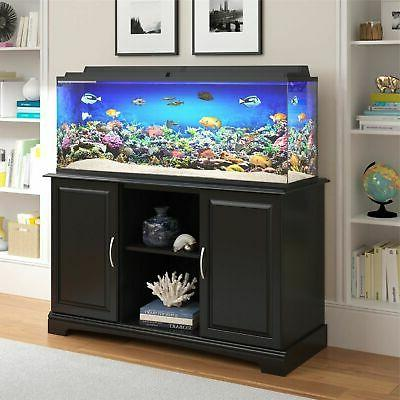 Ameriwood Home Alta Vista 50 75 Gallon Aquarium Display Stan