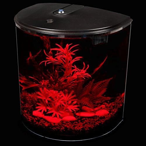 AquaView 3.5-Gallon with Filter LED Lighting