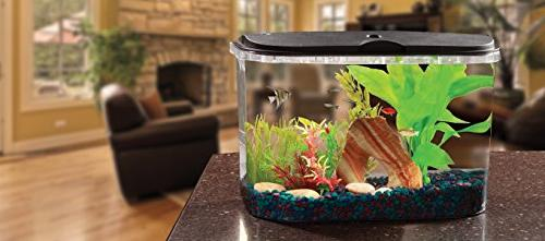 Koller Products Aquarium with LED Lighting Power