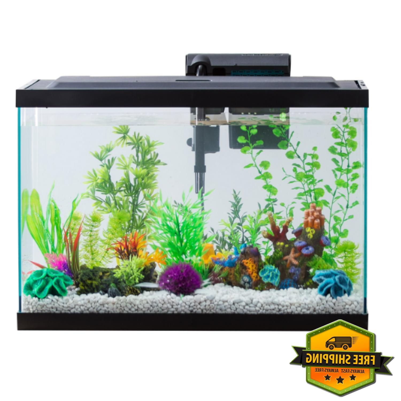 aqua 20 gallon aquarium starter kit
