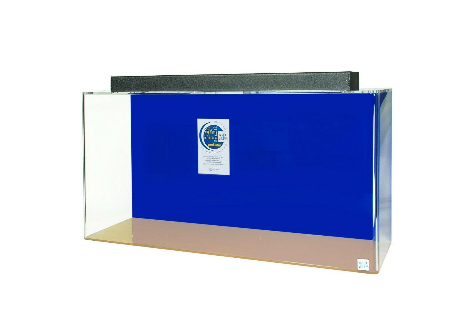 aquarium acrylic rectangular 40 gal rectangular tank