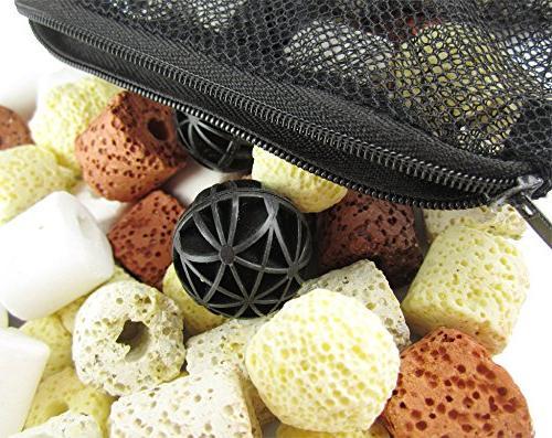 OUFISH Fish Tank Bio Filter Filtration Bag