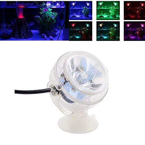 Aquarium Decorations, Ornament Kit with LED Spotlight, Bubbler Stone Aquarium Fish Tank Decorations