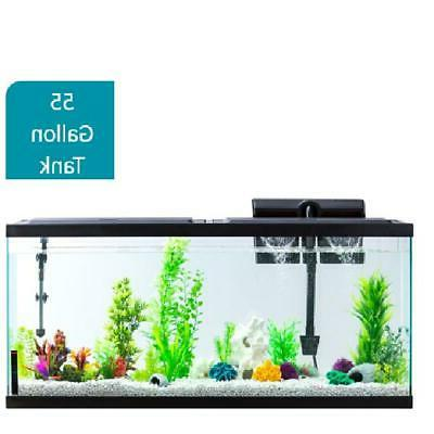 aquarium fish tank 55 gallon led light