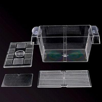 Aquarium Tank Guppy Breeding Fish Gauze Box