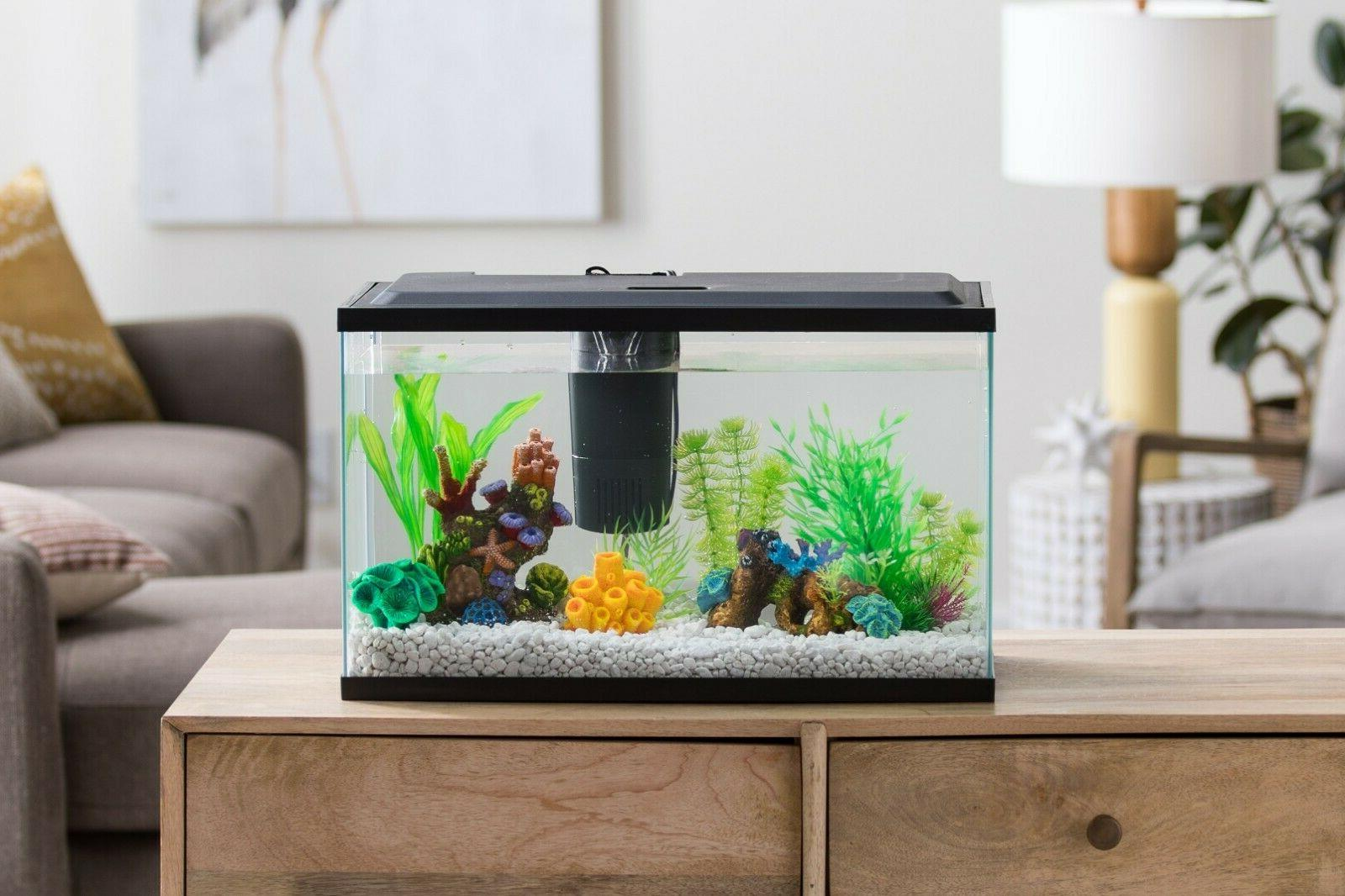 Fish Aquarium Tank Led Hood Filter