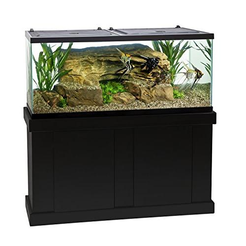 Tetra 55 Gallon Aquarium Kit with Tank, Fish Net, Filter, Heater Water Conditioners