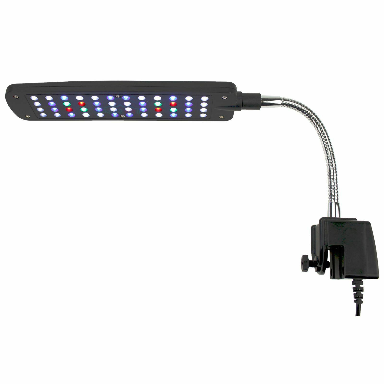 aquarium led clip lamp light 48 leds