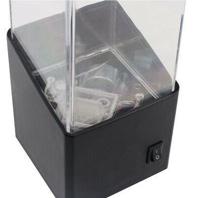 Aquarium LED Water Light Box Jellyfish Bedside Office