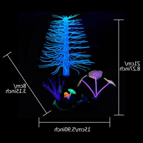 Aquarium Artificial Tanks Plant Sea Ornament