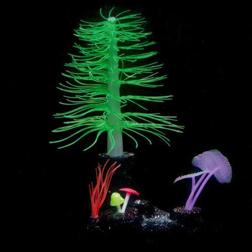 Aquarium Tanks Fake Plant Sea Anemone Ornament