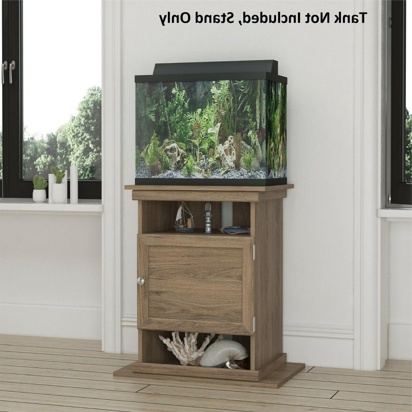 Aquarium Stand Fish Tank Holder Display Shelf Supply Cabinet