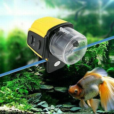 1PC Digital Automatic Electrical Fish Tank Timer Feeder Home