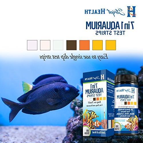 Stript Health 7-Way Aquarium Test Strips - Spend Your Simple Strip Test - Rapid Value Kit