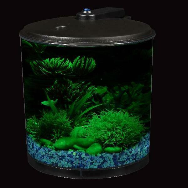 AquaView Fish Power Filter and Lighting