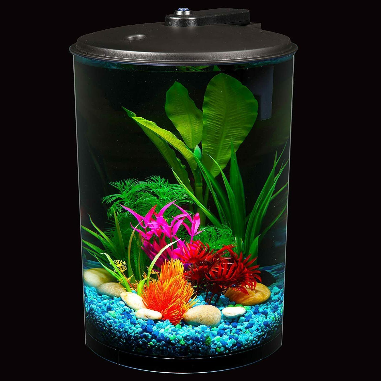 Koller Products AquaView 360 3-Gallon Aquarium Power Filter