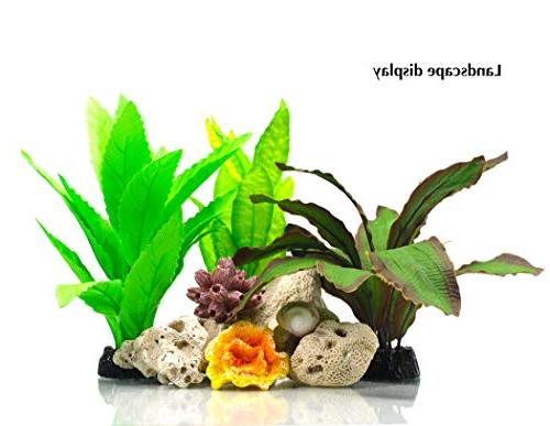 ZAZALUM Aquarium Plants, Fish Plant Fish Aquatic Water
