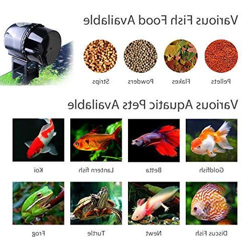 Atman Automatic Fish Fish/Turtle Feeder Food Food Dispenser