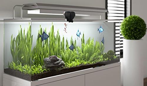 Digital PROCHE Fish Fish Food Timer Feeder Adjustable Dispenser Batteries Vacation, Weekend