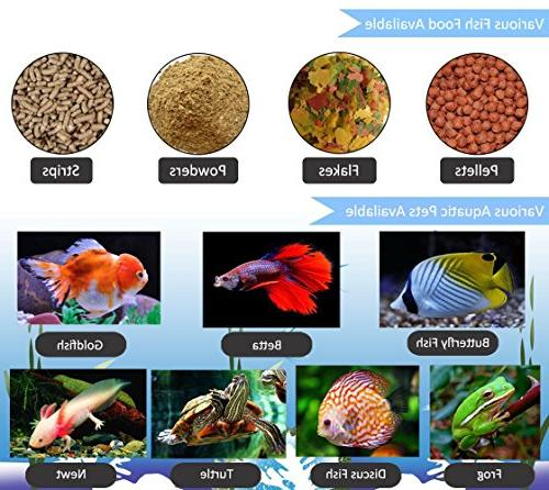 Digital Automatic Fish PROCHE Fish Fish Tank Food Timer Feeder Dispenser for Vacation, Weekend