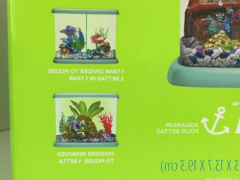 Betta Fish Aquarium Tri-Beta 3 Light + +