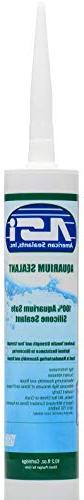 Black Aquarium Silicone Sealant - 10.2 Fluid oz Cartridge