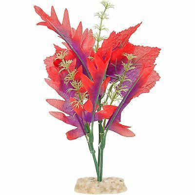 blossoming silk red aquarium plant