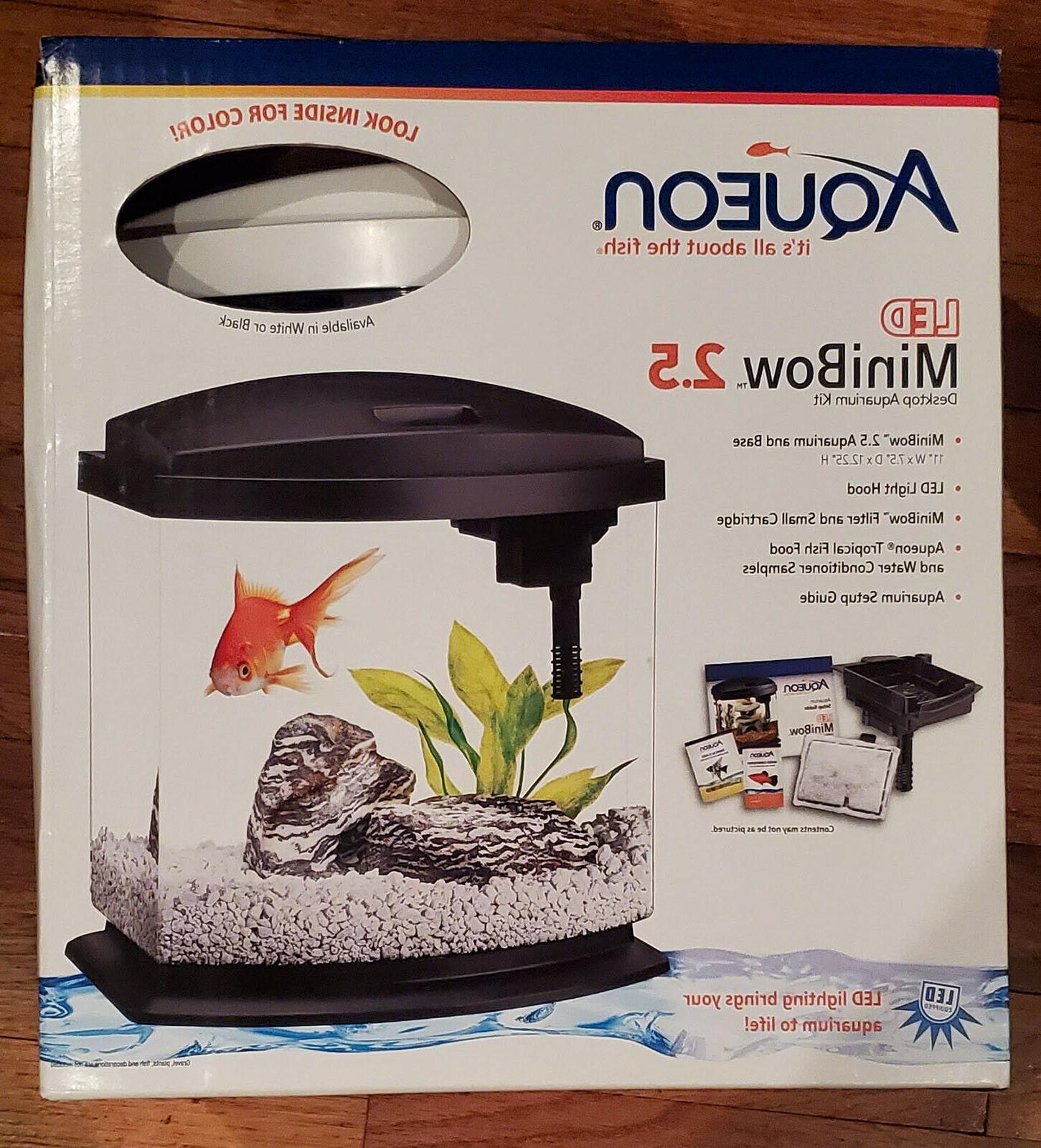 Aqueon MiniBow LED Kit, 2.5 Gallon, White