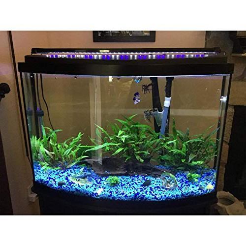 NICREW Fish Extendable and Blue LEDs, Size to Watts