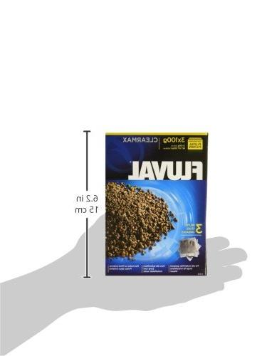 Fluval Clearmax Filters, 3.5 Ounces 3-Pack
