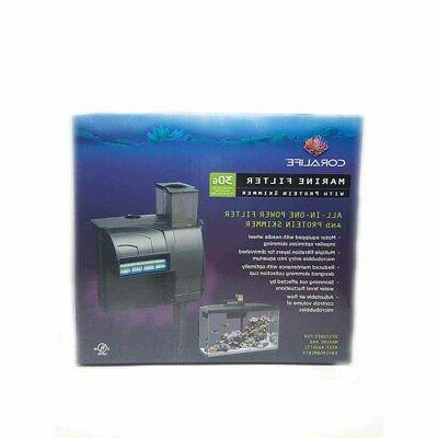 Coralife Marine Filter With Protein Skimmer For Salt Water A